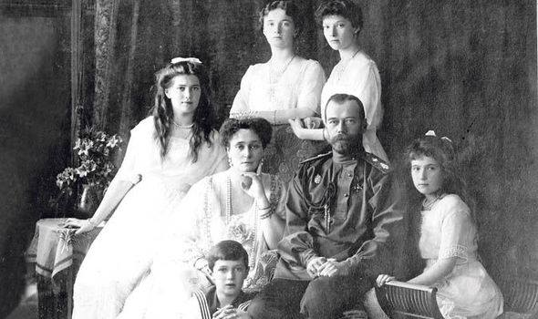 Tsar Nicholas and his family before the outbreak of the Great War