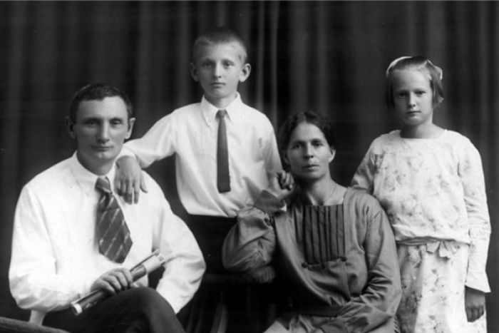 PHOTO: The Prokhorov's returned to Russia in 1923 after the Russian Revolution. (Supplied: Elena Govor)