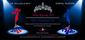 Miss Russia Australia. Miss National AU @ Stamford Plaza Sydney Airport Hotel | Mascot | New South Wales | Australia