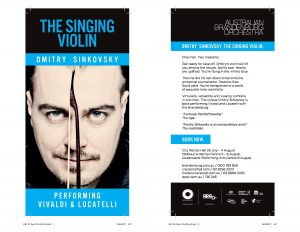 Dmitry Sinkovsky Concerts in Sydney, Melbourne and Brisbane @ City Recital Hall | Sydney | New South Wales | Australia