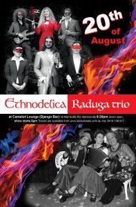 Ethnodelica & Raduga Trio double gig / Этноделика и Радуга Трио @ Camelot Lounge @ Django Bar   Marrickville   New South Wales   Australia