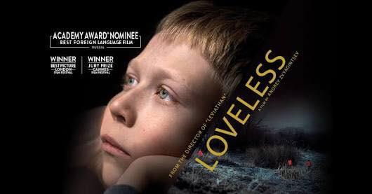 "Russian Movie ""Loveless"" @ Mercury Cinema  | Adelaide | South Australia | Australia"